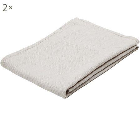 Leichte Leinen-Handtücher Java, 2 Stück