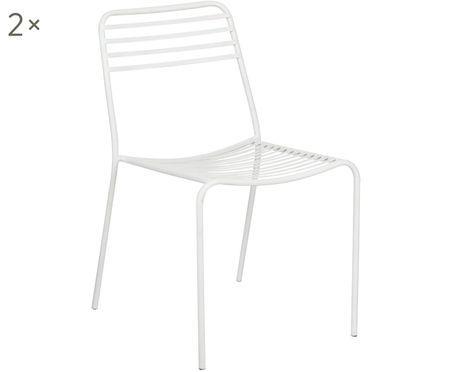 Metall-Stühle Tula, 2 Stück