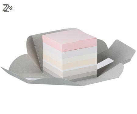 Blocs-notes Candy, 2pièces
