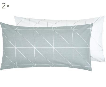 Dwustronna poszewka na poduszkę z bawełny renforcé Marla, 2 szt.
