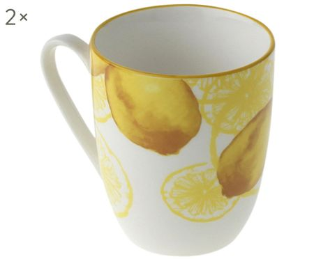 Tazza Lemon, 2 pz.