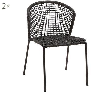 Outdoor stoelen Mathias, 2 stuks