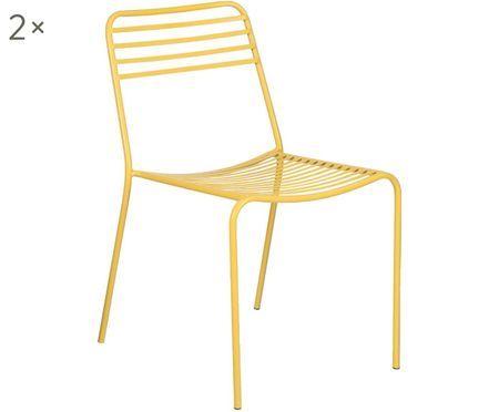 Sedia in metallo Tula 2 pz