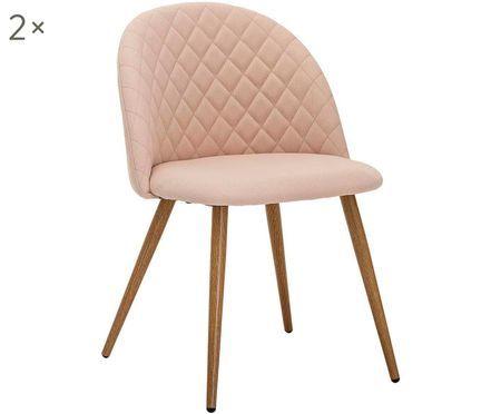 Gestoffeerde stoelen Vapor, 2 stuks