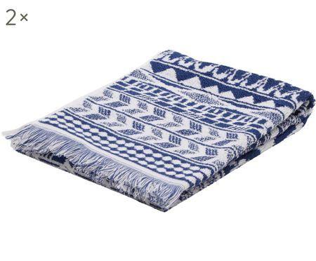 Asciugamano Indigo, 2 pz.
