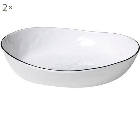 Handgemachte Schalen Salt, 2 Stück