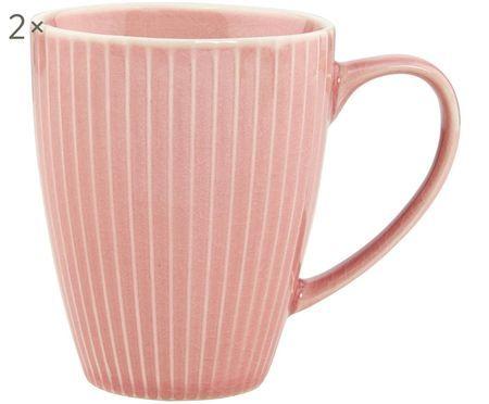 Kaffeetassen Hanami Stripe, 2 Stück