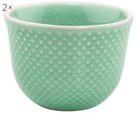Espressotassen Hanami Dots, 2 Stück