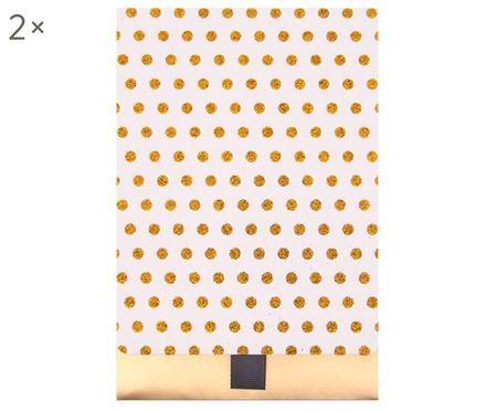 Pochette cadeau Glitter Dots, 2 pièces