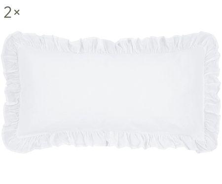 Poszewka na poduszkę z perkalu Florence, 2 szt.