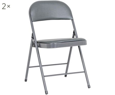 Skládací židle Felicity, 2 kusy