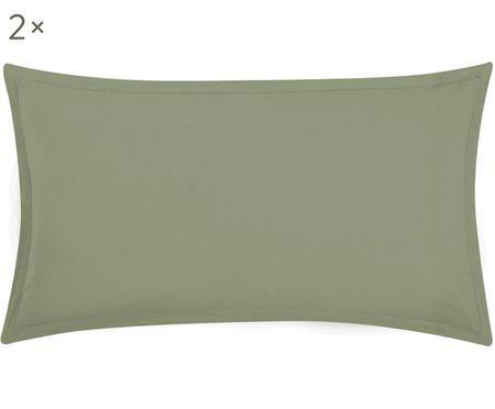 Gewaschene Leinen-Kissenbezüge Breeze, 2 Stück