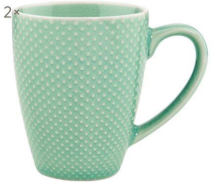Kaffeetassen Hanami Dots, 2 Stück
