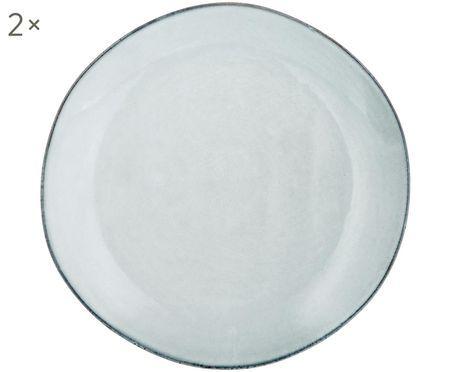 Ręcznie wykonany talerz śniadaniowy Thalia, 2 szt.