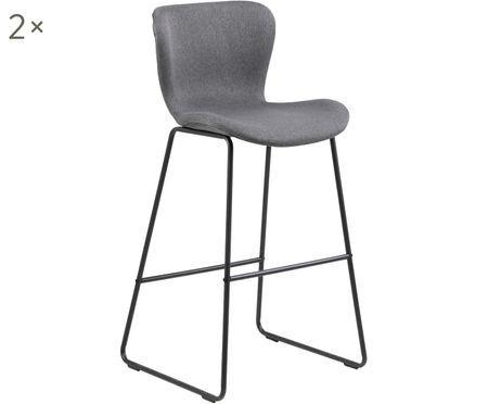 Krzesło barowe Batilda, 2 szt.