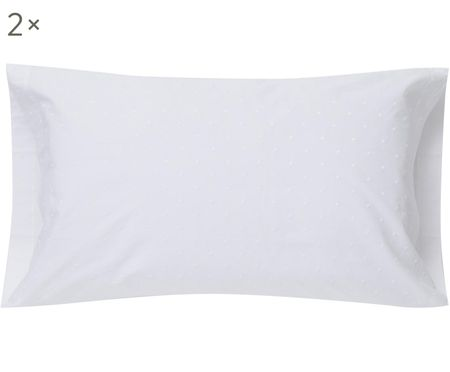 Fundas de almohada con bordado Kelly, 2uds.