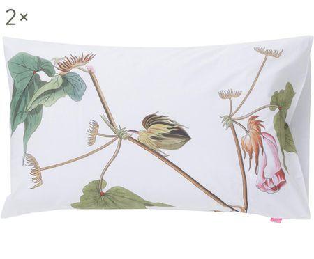 Fundas de almohada Blooming, 2uds.