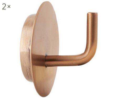 Nástěnný kovový háček Lema, 2 ks