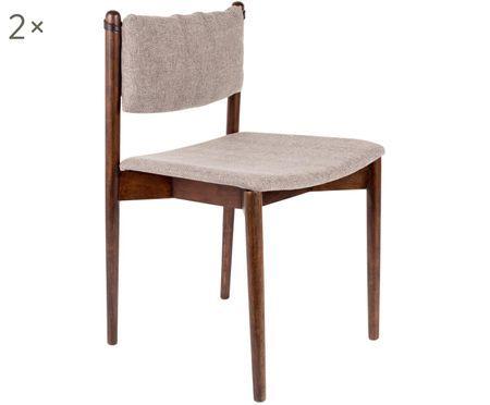 Chaises rembourrées Torrance, 2 pièces