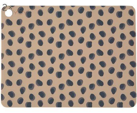 Podkładka z silikonu Leopard, 2 szt.