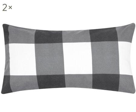 Flanelová obojstranná obliečka na vankúš Lee, 2 ks