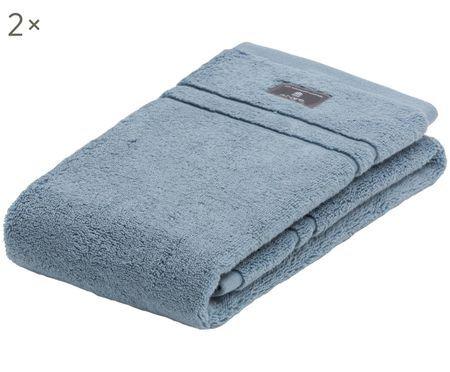 Einfarbige Handtücher Terry, 2 Stück