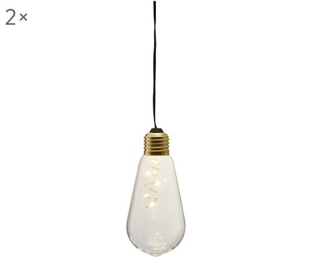 LED Dekoleuchten Glow, 2 Stück