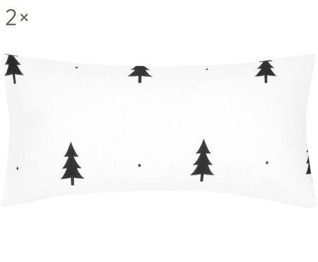 Flanell-Kissenbezüge X-mas Tree, 2 Stück