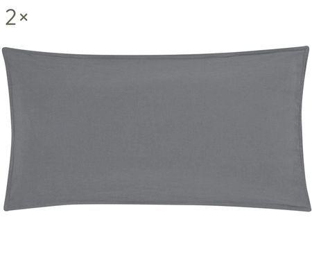 Lněný povlak na polštář Carla, 2 ks