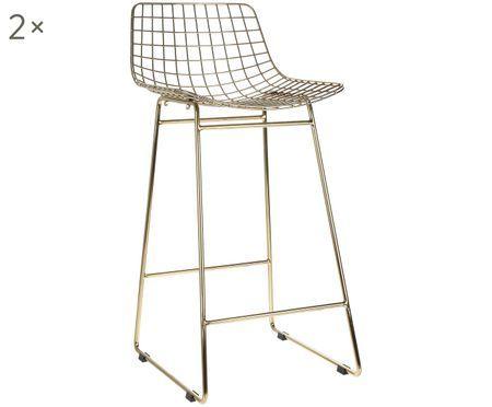 Barová židle Wire, 2 ks