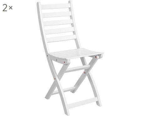 Krzesło składane Lodge, 2 szt.