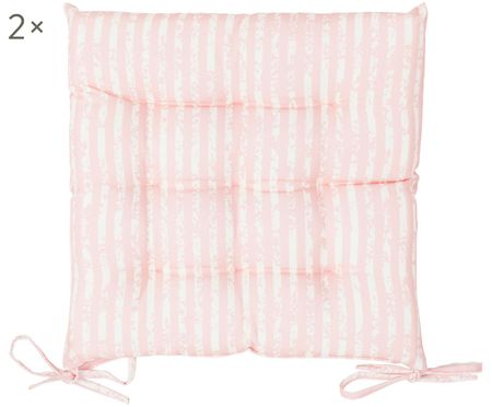 Outdoor-Sitzkissen Little Stripes, 2 Stück