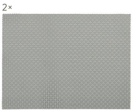 Kunststoff Tischsets Confetti, 2 Stück