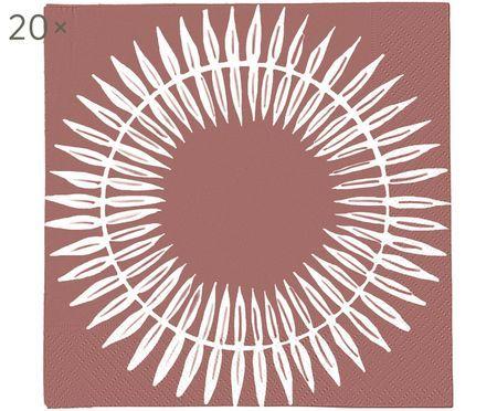 Serviettes en papier Skagen Leaf, 20pièces