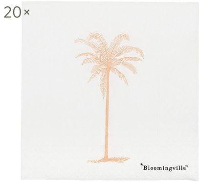 Serviettes en papier Palm, 20 pièces