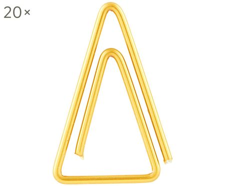 Paperclips Triangle, 20 stuks