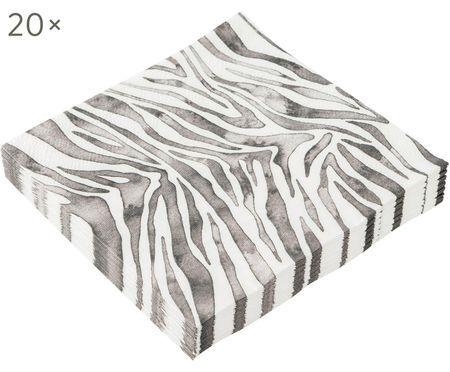 Papierservietten Zeewild, 20 Stück