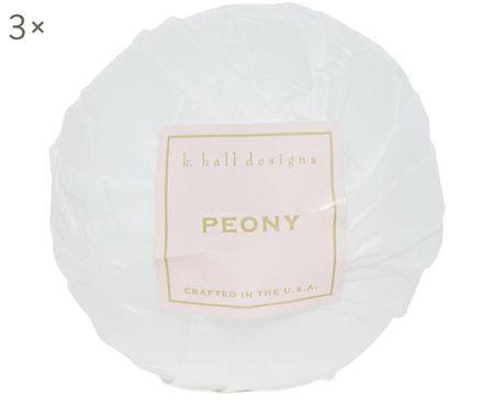 Bruisballen Peony, 3 stuks (bloemengeur)