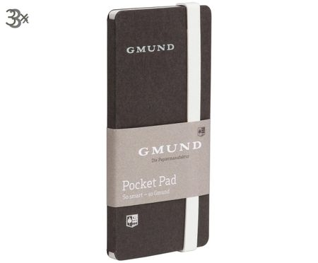 Mini-calepins Pocket Pad, 3pièces