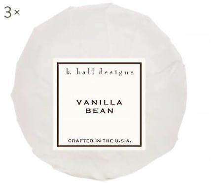 Bruisballen Vanilla Bean, 3 stuks (vanille & tonkaboon)