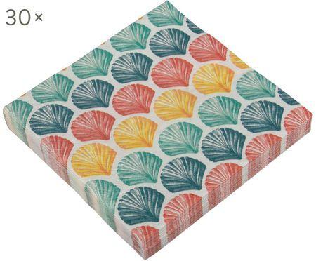Papieren servetten Helix, 30 stuks