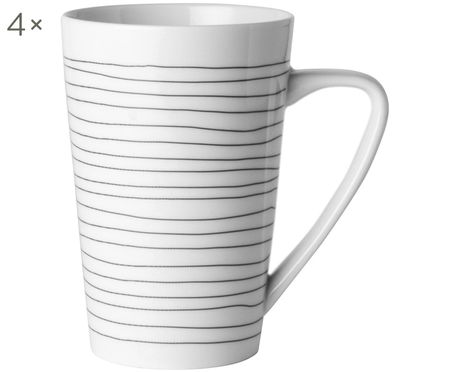 XL-Tassen Eris Loft, 4 Stück