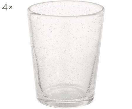 Bicchiere acqua in vetro soffiato Bubble 4 pz