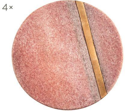Marmor-Untersetzer Stripe, 4 Stück