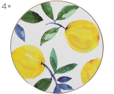 Untersetzer Lemons, 4 Stück