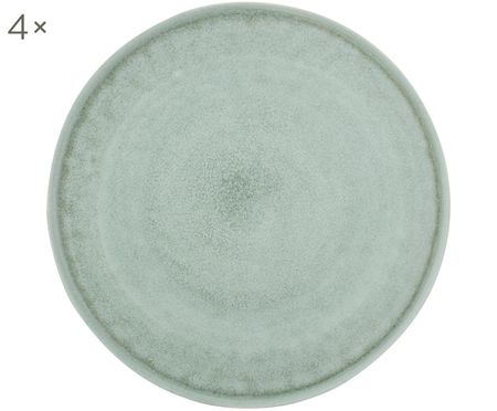 Assiettes plates Glamm, 4pièces