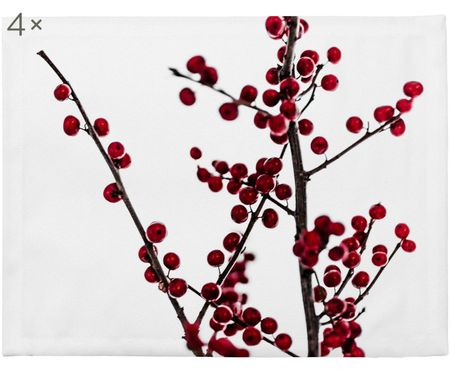 Tovaglietta Red Berries, 4 pz.