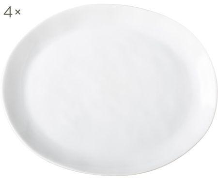 Talerz śniadaniowy Porcelino, 4 szt.