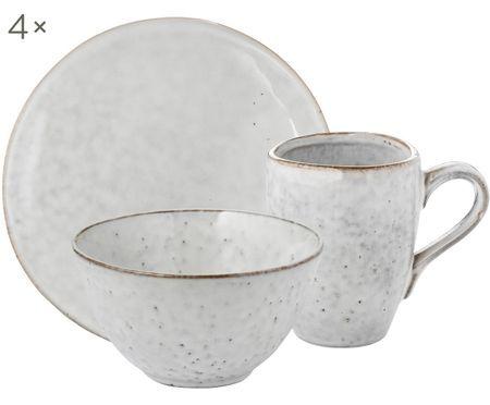 Frühstücks-Set Nordic Sand, 4 Personen (12-tlg.)