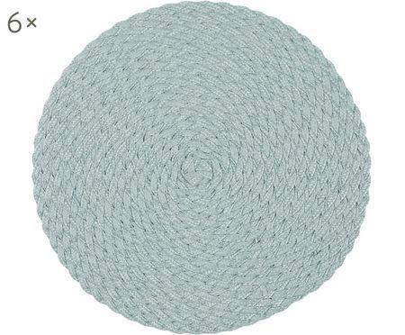 Tovaglietta di plastica rotonda Avon, 6 pz.